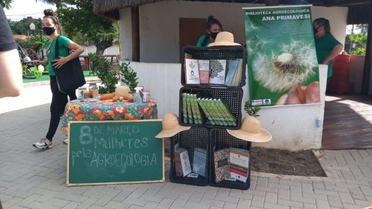 Biblioteca é inaugurada na Praça Agroecológica Emilton Santos, Araçatiba, Maricá, RJ